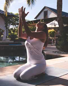 Yoga in mauritius - classes with Patricia Tschopp
