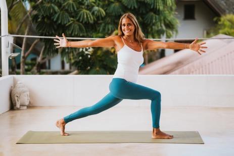 Yoga in mauritius with Patricia Tschopp